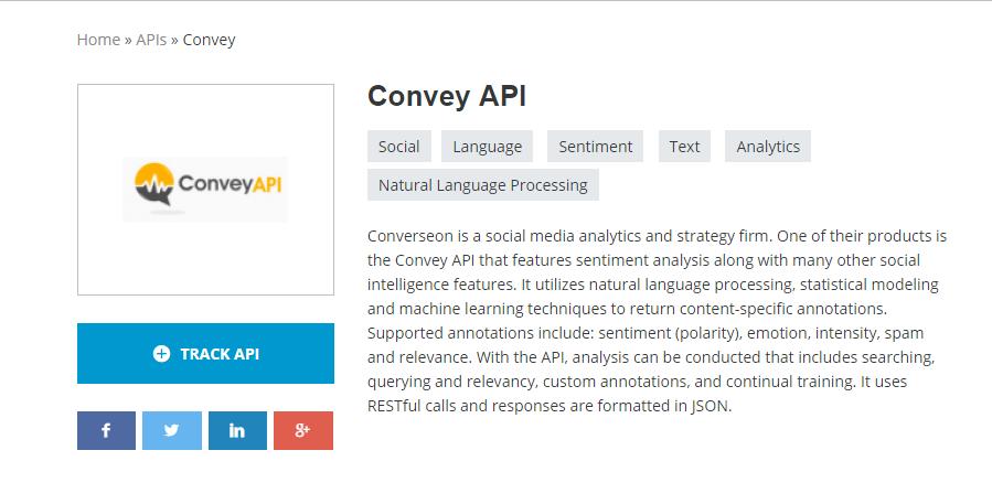 Convey API